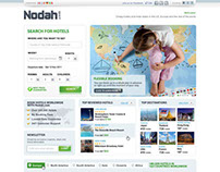 Nodah - web design