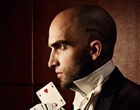 Magician Drummond Money-Cutts for Vanity Fair