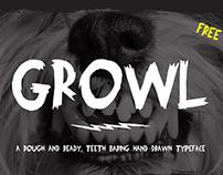FREE Growl Typeface