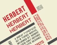 Herbert typography