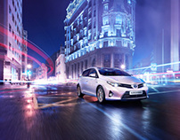 European Campaign: Toyota Auris for Saatchi & Saatchi