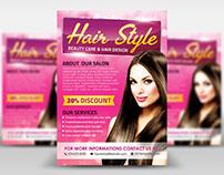 Hair Style Flyer