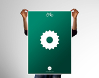 Bike Parts Posters