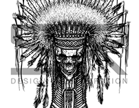INDIAN NATIVE CHIEF