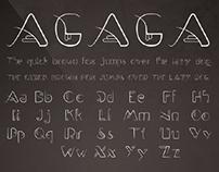 Agaga Font