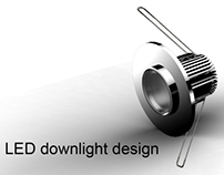 LED downlight design