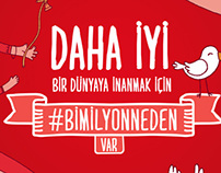 Coca-Cola #bimilyonneden Kampanyası - Basın/Outdoor