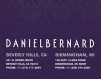 Daniel Bernard Business Card Design