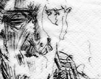 Napkin Drawings