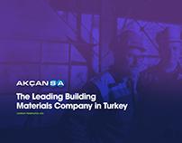 Akcansa Company Presentation 2016