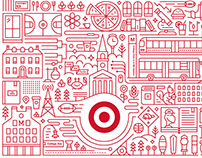 Target Express Storefront Illustrations