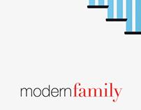 Modern Family Tv Show Minimal Poster