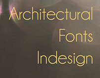 Architectural Font Book