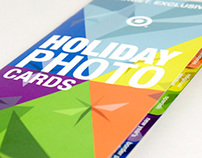 Target Holiday Card Brochure
