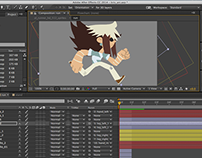 Kris animation process