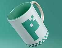 pixi logo design