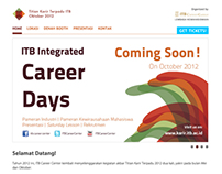 ITB Integrated Career Days October 2013 Website