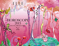 ELLE Japon    HOROSCOPE book