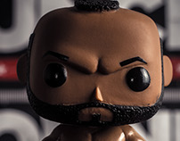 Clubber Lang - Toy Photography