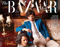 Men's Shoot - Harper's Bazaar Bride, India - Sept '16