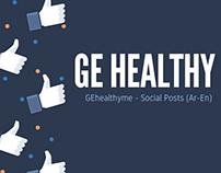 GEhealthyme - Social Posts (Ar-En)