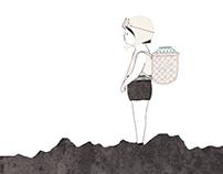 "illustration for book store ""sosimhan"""