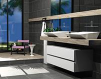 Bathroom Design - Grey Art