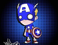 CAPITAN AMERICA - FAN ART