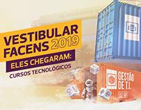 Novos Cursos - Vestibular Facens 2019