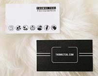 Business Card design - Thomas Teal