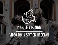 Mobile Vikings- Akcja dworzec PKP Wrocław