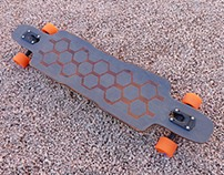 Carbon & Maple Longboard