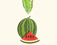 Food Illustrations and Infographics