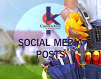 Ok Contractors - Redes Sociales