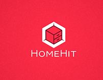 Логотип для мебельного магазина HomeHit
