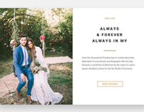 Interactive Slider Element - Wedding WordPress Theme