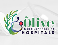 The Olive Multi-Specialist Hospitals Branding
