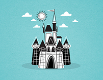 Disney's Magic Kingdom Illustrations