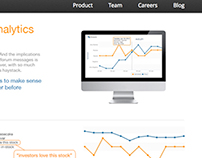 City Trader website design