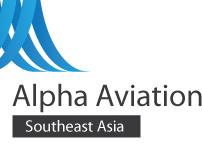Alpha Aviation Logo Studies