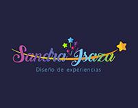 Diseño logo Sandra Isaza Eventos