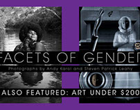 """Facets of Gender"" Show direct mailer"