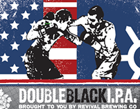 Double Black IPA 4-Pack and Case
