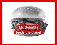 McDonald's feeds the planet