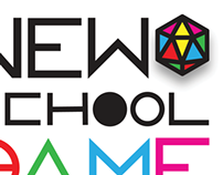 New School Game Club Brand ID