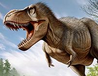 Tyrannosaurus rex VS Struthiomimus