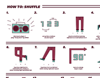 How To Shuffle Infographic