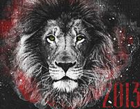 Lion Calendar 2013