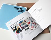 Personal Portfolio Booklet