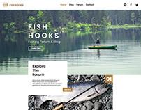 Fish hooks Web Design Practice no. 10